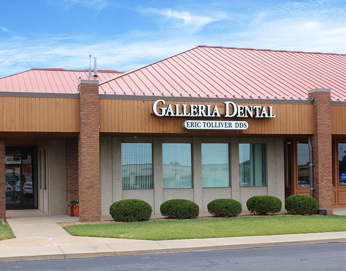 Outisde view of Galleria Dental office in Springfield Missouri