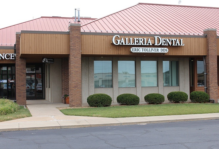 Outside view of Galleria Dental office